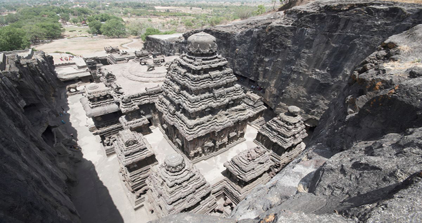 Mysterious Kailash Temple of Ellora